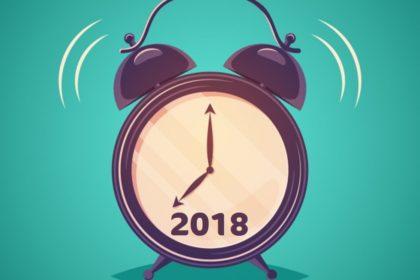 Première nouvelle résolution pour l'année à venir : nouveaux horaires.