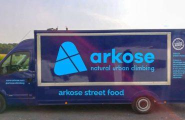 Le food truck Arkose s'installe à Pantin.
